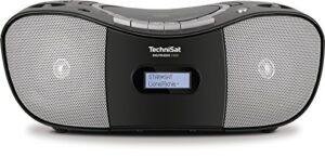 DAB Radio Test TechniSat Digitradio 1980 Stereo CD Radio Boombox (DAB+, UKW, USB-Schnittstelle, CD Player, Kassettendeck, Kopfhöreranschluss, USB, AUX in) schwarz