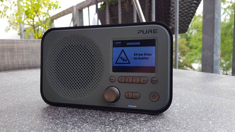 Pure Elan BT 3 DAB Radio Test