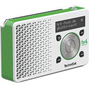TechniSat Digitradio 1, hr4 Edition weiß/grün